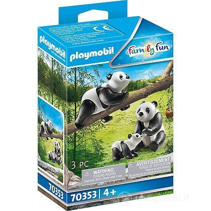 Famiglia di panda (70353)