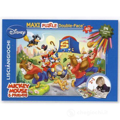 Topolino puzzle df maxi 60