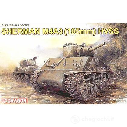 Carro armato Sherman M4A3 (105mm) HVSS 1/35 (DR6354)
