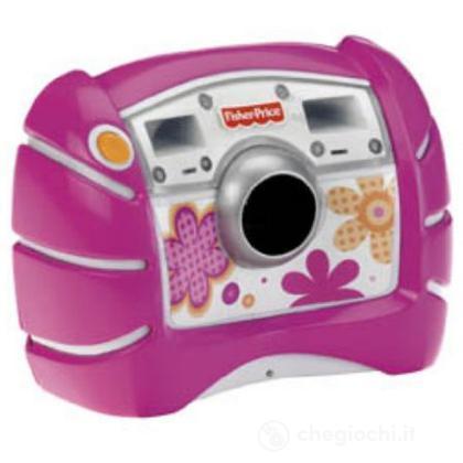 Macchina fotografica digitale rosa (V2752)