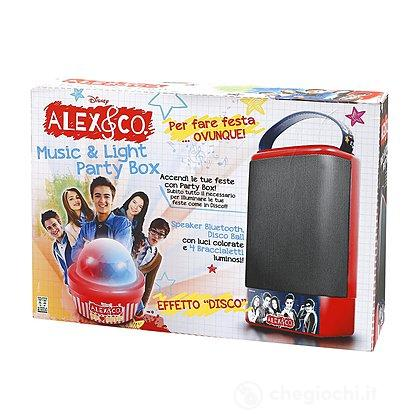 canta tu alex co speaker party box con dispositivo