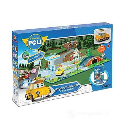 Robocar Poli Brooms Town Map Energy Station  (83248)