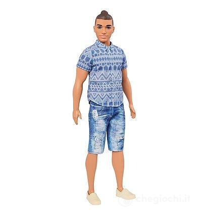 Barbie - Ken - Fashionistas - 13 Distressed Denim (FNJ38)