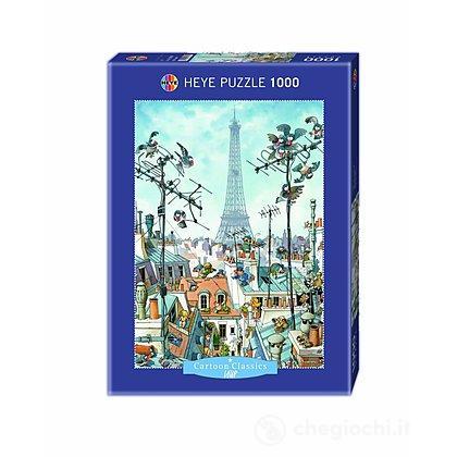 Puzzle 1000 Pezzi - Torre Eiffel