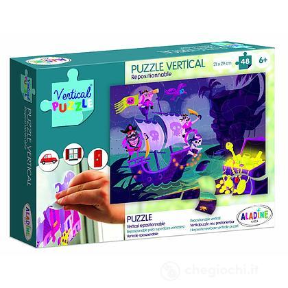 New Vertical Puzzle Pirati - 48 pezzi (ALD-VP59)