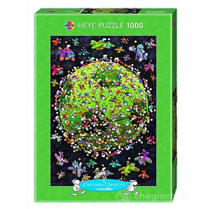 Puzzle 1000 Pezzi - Pallone da Calcio