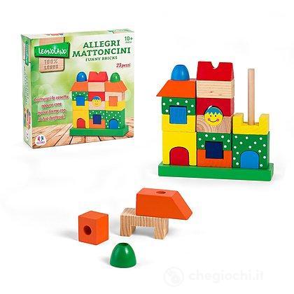 Costruzioni 23 pezzi Legnoland (36360)