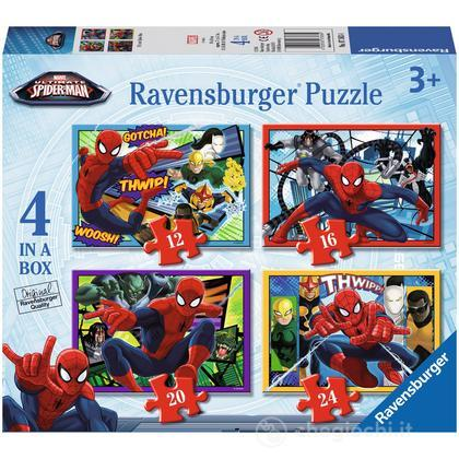 Ultimate Spider-Man 4 puzzle in 1