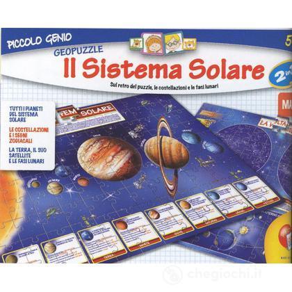 Geopuzzle 2 in 1 il sistema solare