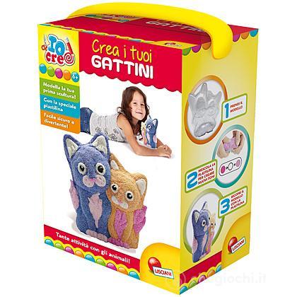 Io Creo Pasta Da Modellare Crea I Tuoi Gattini (63703)