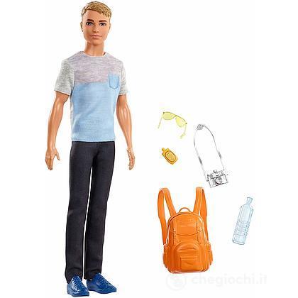 Barbie Ken in viaggio Travel (FWV15)
