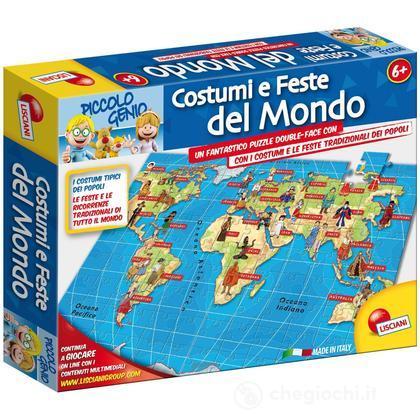 Piccolo Genio Edupuzzle Costumi e Feste del Mondo (43712)