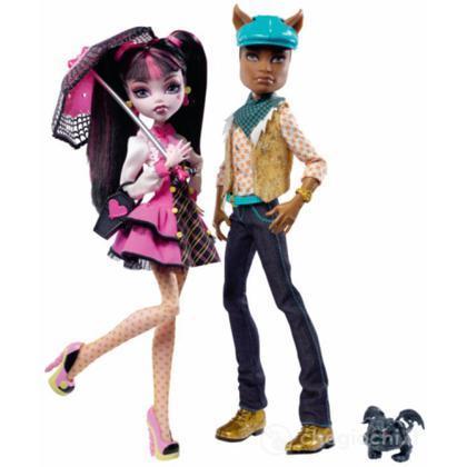 Monster High Doll  - Draculaura e Clawd (V7961)