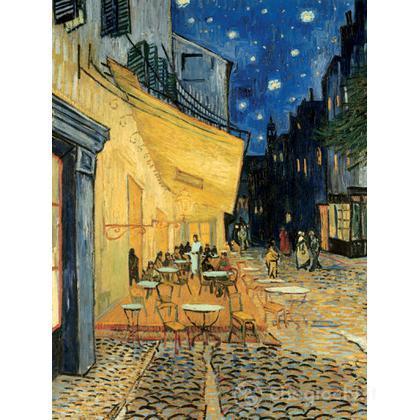 Van Gogh: Terrazza del caffè la sera