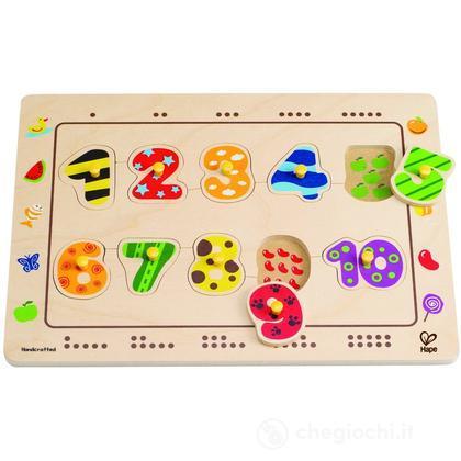 "Puzzle ""Abbina i numeri"" (E1500)"