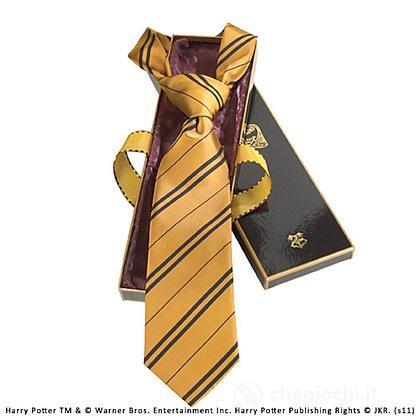 Harry Potter - Cravatta Tassorosso Deluxe (NN7625)
