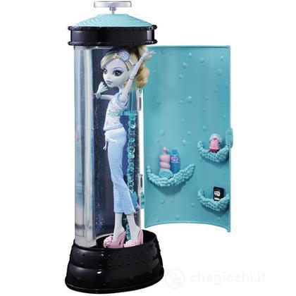 Monster High Doll - Centro di bellezza da paura Lagoona Blue (V7963)