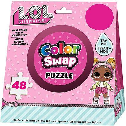 Lol Surprise Puzzle 48pz Cambia Colore
