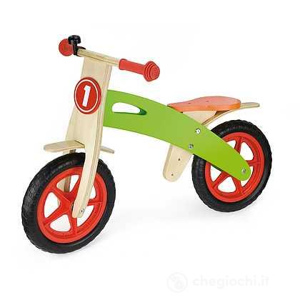 Bicicletta in legno senza pedali 85 X 58 cm
