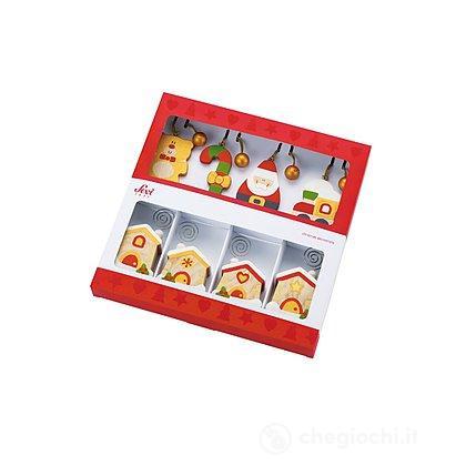 Confezione regalo segnaposto Natale (12 pezzi)