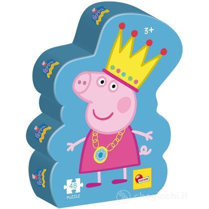 Puzzle Confezione Sagoma La Principessa Peppa (43781)