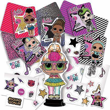 Stickers Surprise Stickers Card73788Lisciani Crea Lol Surprise Crea Surprise Crea Stickers Card73788Lisciani Lol Lol FKJTc13l