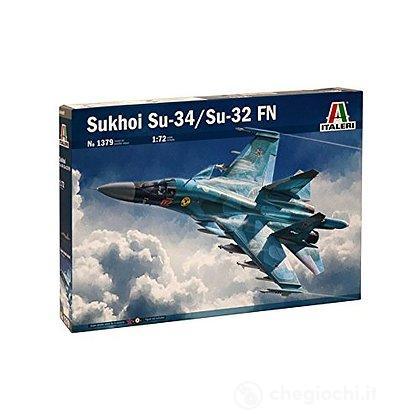 Aereo Sukhoi Su 34/32 1/72 (IT1379)
