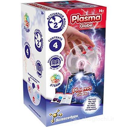 Sfera al plasma, lampada a sfera magica, sensore di tocco della luce della sfera del globo elettrico (393813)