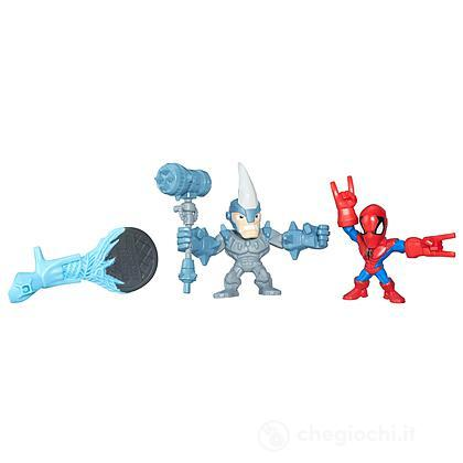Hero Masher Micro Spider-Man Vs Rhino