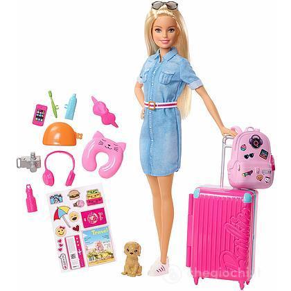 Barbie in viaggio travel (FWV25)