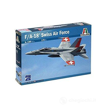Aereo F/A 18 Swiss Air Force 1/72 (IT1385)