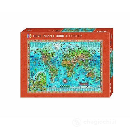Puzzle 3000 Pezzi - Mondo Stupefacente