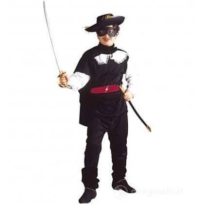 Costume Zorro Bandito mascherato 8-10 anni