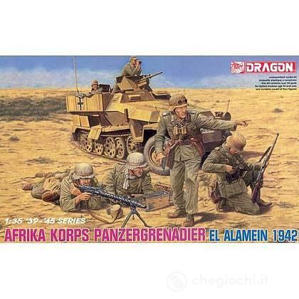 Afrika korps panzergrenadier El alamein 1942 1/35 (DR6389)