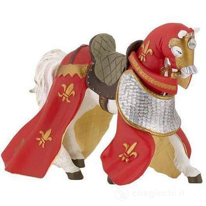 Cavallo rosso drappeggiato (39390)