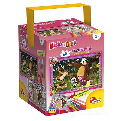 Puzzle In A Tub Maxi 48 Masha