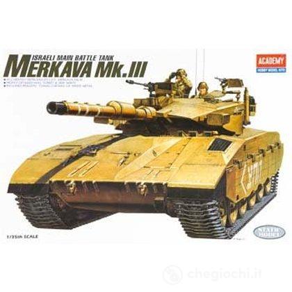Carro Armato I.D.F. MERKAVA MK-III (OLD NO.1347). Scala 1/35 (AC13267)
