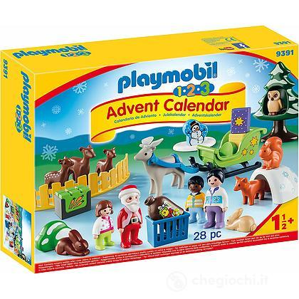 Immagini Calendario Dellavvento.Calendario Dell Avvento 1 2 3 Natale Nel Bosco 9391