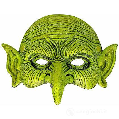 Maschera Strega senza mento per Adulti, Taglia unica