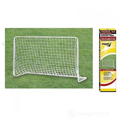 Porta Calcio Basic Metallo
