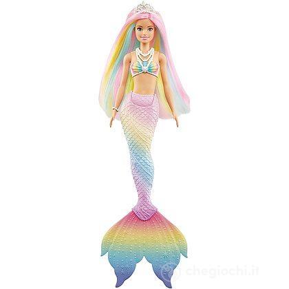 Barbie sirena cambia colore (GTF89)