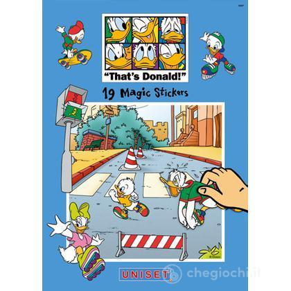 Magic Stickers - Paperino