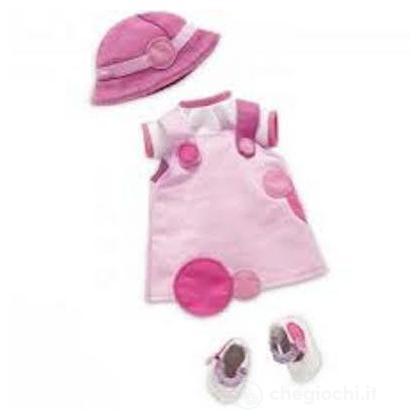 Vestito rosa 36 cm (64397)