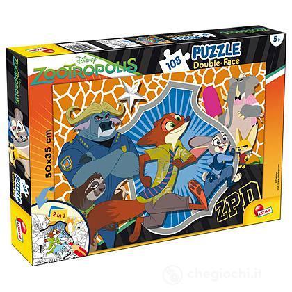 Puzzle double face Plus 108 Zootropolis