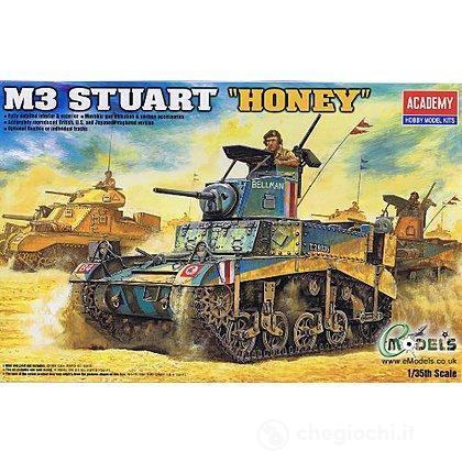 """Mezzo Militare British M3 Stuart """"Honey"""" (AC13270) (AC1399)"""
