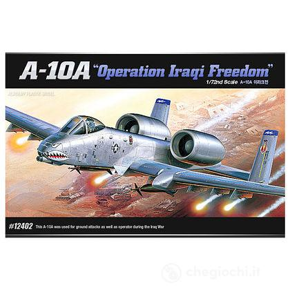 Aereo A-10A OPERATION IRAQI FREEDOM. Scala 1/72 (AC12402)