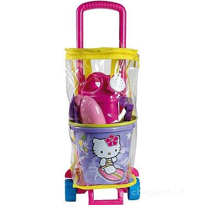 Carretto Zainetto con Set Mare Hello Kitty (6402)