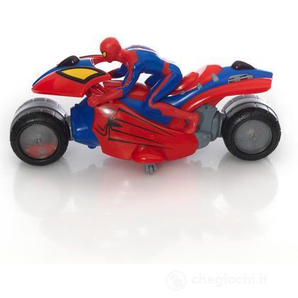 Moto spider man 4 radiocomandata gpz18402 radiocomandati giochi preziosi giocattoli - Spider man moto ...