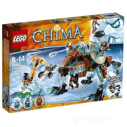 Walker denti a sciabola di Sir Fangar - Lego Legends of Chima (70143)