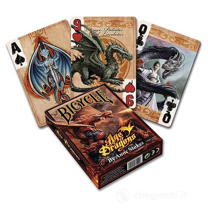 Carte Poker Bicycle Anne Stokes Age Of Dragons
